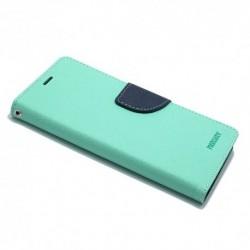 Futrola za iPhone X/XS preklop sa magnetom bez prozora Mercury - tirkizna