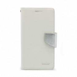 Futrola za LG Q6/Q6 Plus/Q6a preklop sa magnetom bez prozora Mercury - bela