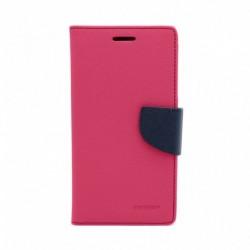 Futrola za LG Q6/Q6 Plus/Q6a preklop sa magnetom bez prozora Mercury - pink