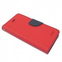 Futrola za Tesla Smartphone 6.3 preklop sa magnetom bez prozora Mercury - crvena
