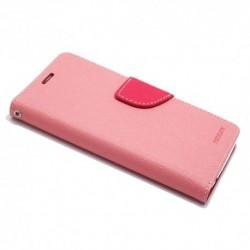 Futrola za Alcatel A3 preklop sa magnetom bez prozora Mercury - roza