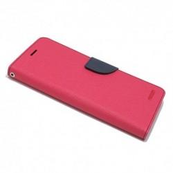 Futrola za HTC U Play preklop sa magnetom bez prozora Mercury - pink