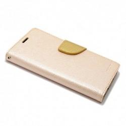 Futrola za Huawei Honor 9 preklop sa magnetom bez prozora Mercury - zlatna
