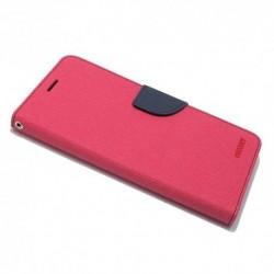 Futrola za Huawei Nova Plus preklop sa magnetom bez prozora Mercury - pink