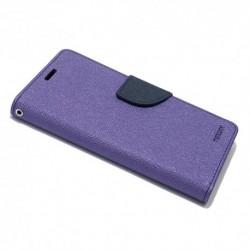 Futrola za Huawei Y6 II/Honor Holly 3/3 Plus preklop sa magnetom bez prozora Mercury - ljubičasta