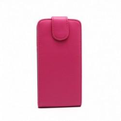 Futrola za Samsung Galaxy J5 preklop gore bez prozora Chic - pink