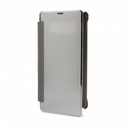 Futrola za Samsung Galaxy Note 8 preklop bez magneta bez prozora See - srebrna