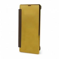 Futrola za Samsung Galaxy Note 8 preklop bez magneta bez prozora See - zlatna