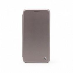Futrola za iPhone 7/8/SE (2020)/SE2 preklop bez magneta bez prozora Teracell flip - srebrna