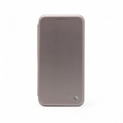 Futrola za Samsung Galaxy S8 preklop bez magneta bez prozora Teracell flip - srebrna