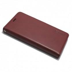 Futrola za iPhone X/XS preklop bez magneta bez prozora Mercury model 1 - bordo
