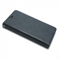 Futrola za iPhone X/XS preklop bez magneta bez prozora Mercury model 1 - teget
