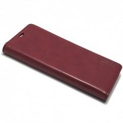 Futrola za Samsung Galaxy S8 Plus preklop bez magneta bez prozora Mercury model 1 - bordo