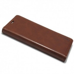 Futrola za Samsung Galaxy S8 Plus preklop bez magneta bez prozora Mercury model 1 - braon