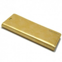 Futrola za Samsung Galaxy S8 Plus preklop bez magneta bez prozora Mercury model 1 - zlatna