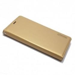 Futrola za Huawei Honor 9 lite preklop bez magneta bez prozora Hanman - zlatna