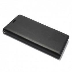 Futrola za Huawei Mate 10 Pro preklop bez magneta bez prozora Hanman - crna
