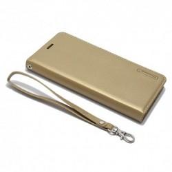 Futrola za Huawei Mate 10 Pro preklop bez magneta bez prozora Hanman - zlatna