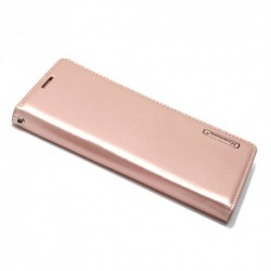 Futrola za Samsung Galaxy A8 Plus (2018) preklop bez magneta bez prozora Hanman - svetlo roza