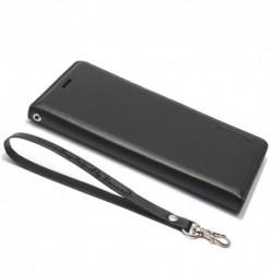 Futrola za Samsung Galaxy S8 Plus preklop bez magneta bez prozora Hanman - crna
