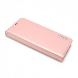 Futrola za Samsung Galaxy S9 preklop bez magneta bez prozora Hanman - svetlo roza