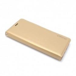 Futrola za Samsung Galaxy S9 Plus preklop bez magneta bez prozora Hanman - zlatna