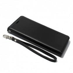 Futrola za Samsung Galaxy Note 7 preklop bez magneta bez prozora Hanman - crna