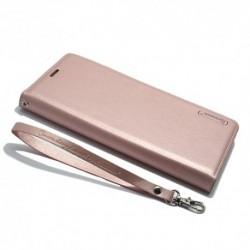 Futrola za Samsung Galaxy Note 8 preklop bez magneta bez prozora Hanman - svetlo roza