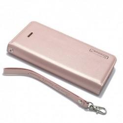 Futrola za iPhone 5/5s/SE preklop bez magneta bez prozora Hanman - svetlo roza
