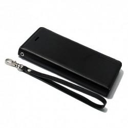Futrola za iPhone 6/6s preklop bez magneta bez prozora Hanman - crna