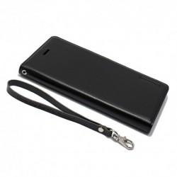 Futrola za iPhone 7 Plus/8 Plus preklop bez magneta bez prozora Hanman - crna