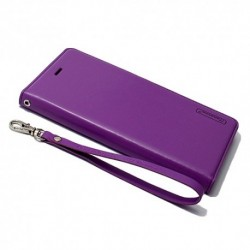 Futrola za iPhone 7 Plus/8 Plus preklop bez magneta bez prozora Hanman - ljubičasta
