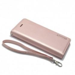 Futrola za iPhone 7/8/SE (2020)/SE2 preklop bez magneta bez prozora Hanman - svetlo roza