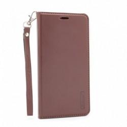 Futrola za Samsung Galaxy S8 Plus preklop bez magneta bez prozora Hanman - braon