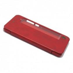 Futrola za Huawei P10 Plus preklop bez magneta sa prozorom Nillkin Qin - crvena