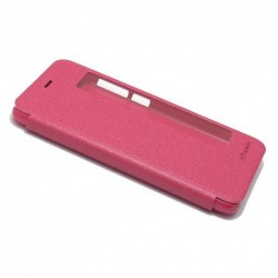 Futrola za Huawei P10 preklop bez magneta sa prozorom Nillkin sparkle - pink