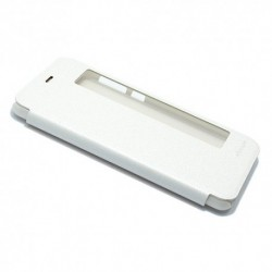 Futrola za Huawei P10 Plus preklop bez magneta sa prozorom Nillkin sparkle - bela