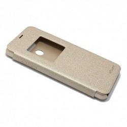 Futrola za LG G6 preklop bez magneta sa prozorom Nillkin sparkle - zlatna