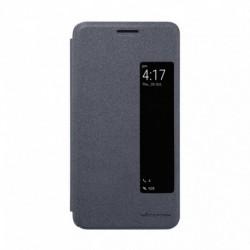 Futrola za Huawei Mate 10 preklop bez magneta sa prozorom Nillkin sparkle - crna