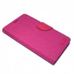 Futrola za iPhone X/XS preklop sa magnetom bez prozora Mercury Canvas - pink