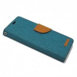 Futrola za iPhone X/XS preklop sa magnetom bez prozora Mercury Canvas - zelena