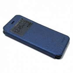 Futrola za iPhone 7 Plus/8 Plus preklop bez magneta sa prozorom Mercury view - teget