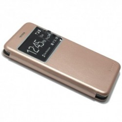 Futrola za Huawei P10 preklop bez magneta sa prozorom iHave - roza