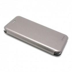 Futrola za Huawei Enjoy 7S/P smart preklop bez magneta bez prozora iHave - siva