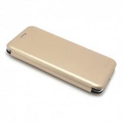 Futrola za Huawei Enjoy 7S/P smart preklop bez magneta bez prozora iHave - zlatna