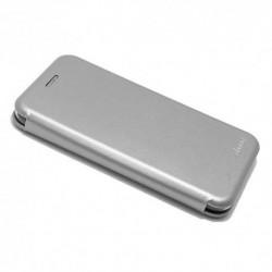 Futrola za Motorola Moto C preklop bez magneta bez prozora iHave - siva