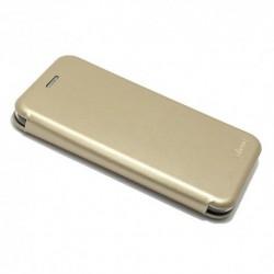 Futrola za Motorola Moto E4 Plus preklop bez magneta bez prozora iHave - zlatna