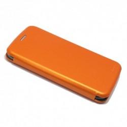 Futrola za Samsung Galaxy S8 preklop bez magneta bez prozora iHave - narandžasta