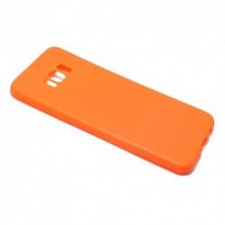 Futrola za Samsung Galaxy S8 Plus leđa Ultra tanki kolor - narandžasta