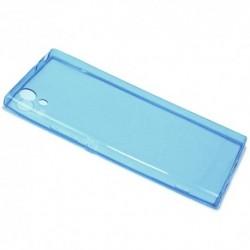 Futrola za Sony Xperia XA1 leđa Ultra tanki protect - plava